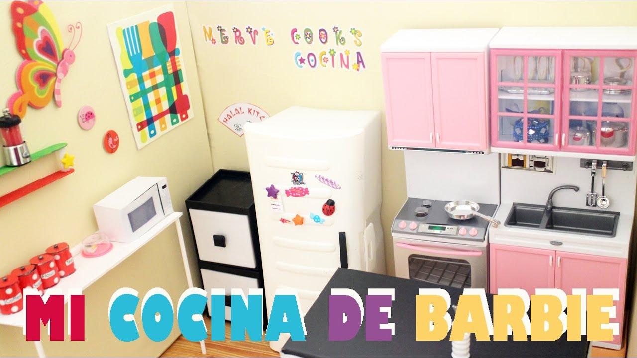 Revisi n de la cocina de mi barbie tour y revisi n - Ideas para hacer un tocador ...