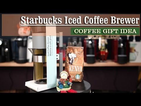 Starbucks Iced Coffee Brewer Coffee Gifts Ideas - YouTube