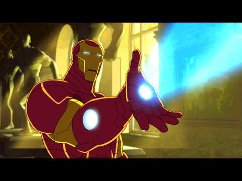 """Marvel - Команда """"Мстители"""" -  Сборник мультфильма все серии подряд, сезон 1 серии 1-4"""
