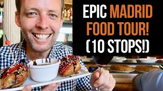 EPIC Madrid Food Tour (10 AMAZING stops)