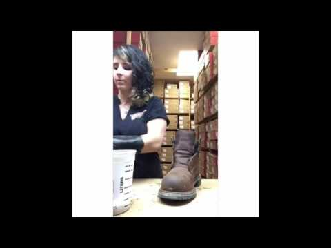 Red Wing Shoes of Huntington Boot Maintenance Video