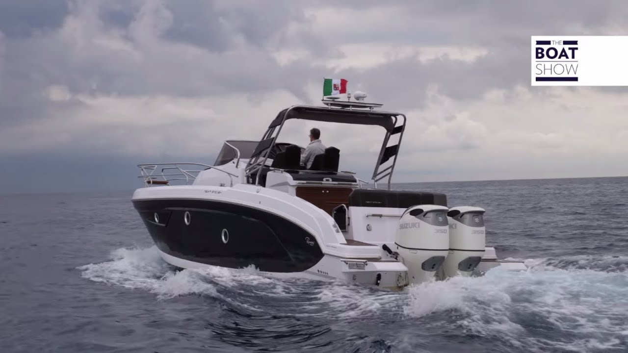 [ENG] RANIERI NEXT 370 SH With 2 x 350 SUZUKI - 4K Full Review - The Boat  Show