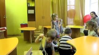 Открытый урок детский сад Делайт 3 года ч.1