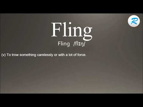 Meaning of a fling