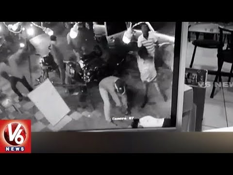 CCTV Footage : Rowdy Sheeter Brutally Murdered in Guntur | AP | V6 News