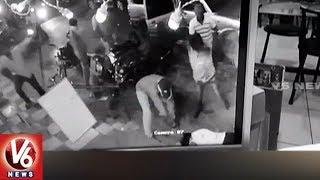 Download Video CCTV Footage : Rowdy Sheeter Brutally Murdered in Guntur   AP   V6 News MP3 3GP MP4