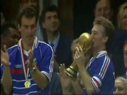 Victoire coupe du monde 1998