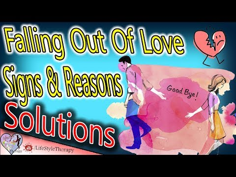How to know if youre falling out of love with someone