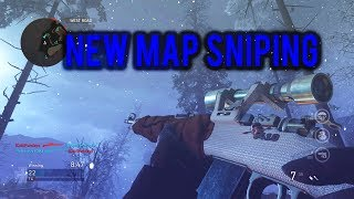 Call of Duty WW2: Insane New Map Sniping Gameplay (groesten haus)
