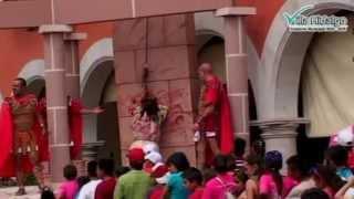 Representación Monumental Viacrucis Viviente Villa Hidalgo 2013