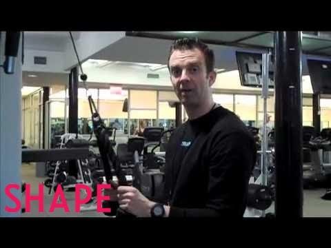 SHAPE Bride: Tricep Extension Exercise | Shape