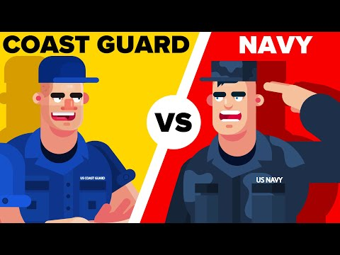 US Coast Guard Vs Navy - What's The ACTUAL Difference? (Military Comparison)