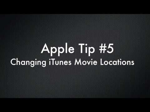 Apple Tip #5 - Moving Your Movies in iTunes to Network Storage