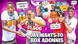 JAY WANTS TO BOX ADONNIS & I SURPRISED TORY WITH IPHONE 11!