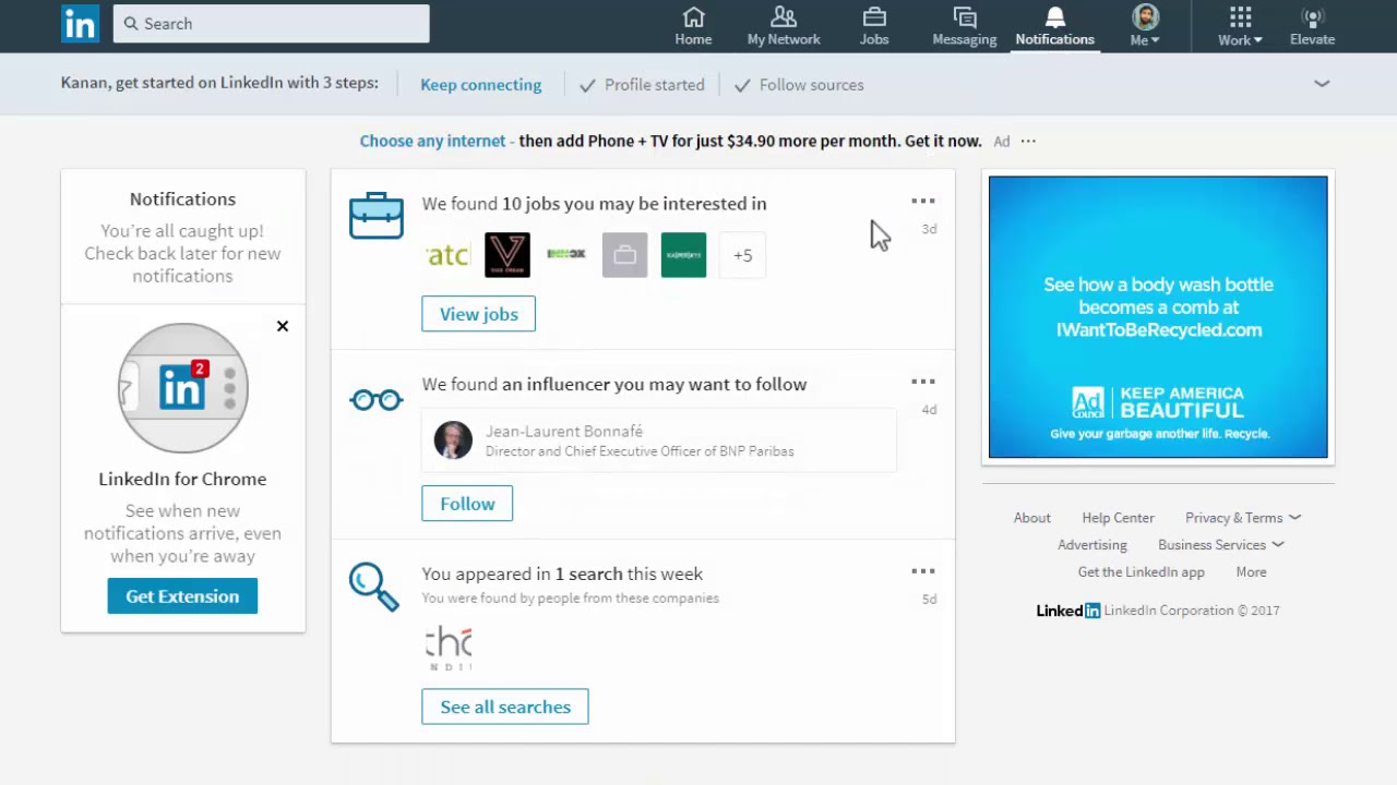 Managing Your LinkedIn Notification Updates | LinkedIn Help