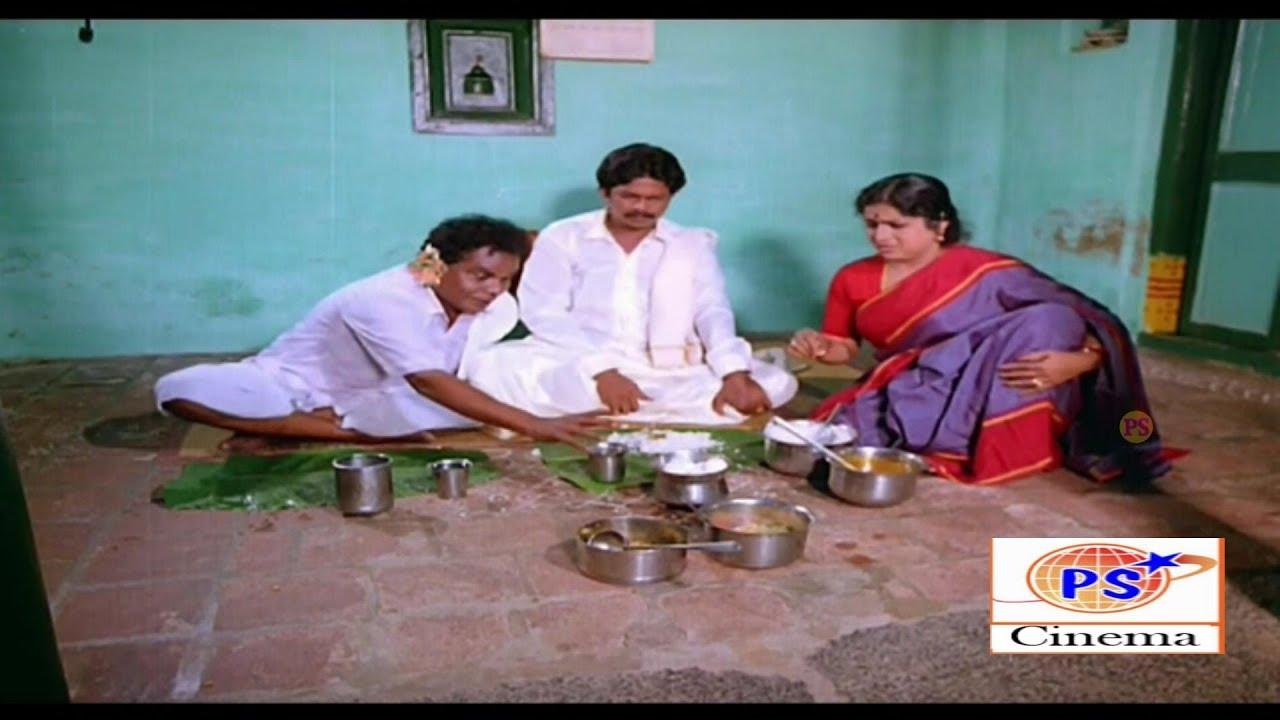 மாப்பிளை இந்த விருந்து எல்லாம் உங்களுக்குத்தான் நல்ல சாப்பிடுங்க கோழி ஆடு எல்லாம் இருக்கு | comedy |