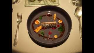 Dinner at restaurant Vendome, 3 * Michelin, No. 10 on Worlds 50 Best restaurants