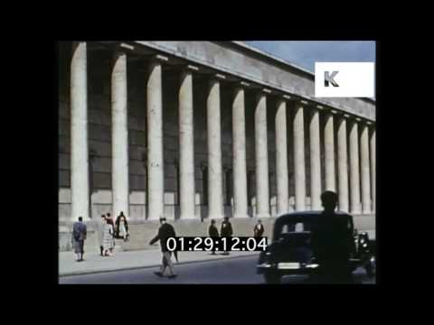 1930s Germany, Summertime in Munich, Rare Colour Home Movie Footage