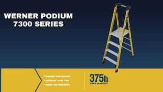 Werner Ladder - PD7300 - Walk It Down