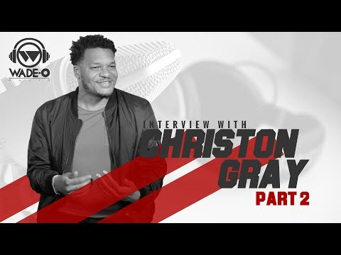Christon Gray on the Realities of Being a Christian Recording Artist
