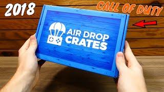 (OCTOBER 2018) AIR DROP CRATES - Unboxing [CALL OF DUTY CRATE]