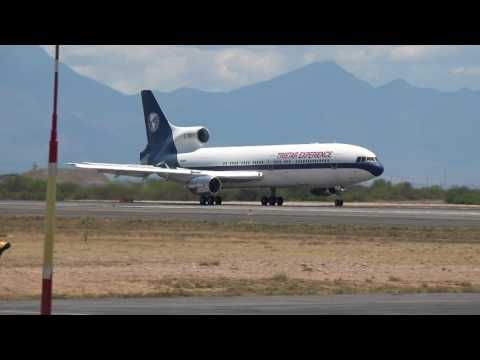 Lockheed Tristar L-1011 N910TE Landing