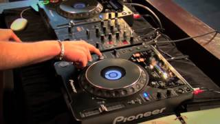 DJ Beat Matching Free Video Tutorial - Using The Cue on CDJ Turntable - Cue And Throw Tutorial