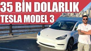 35 Bin Dolarlık Tesla Model 3 | Türkiye'deki İlk Test