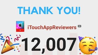 12,000 Subscribers! Thank You!