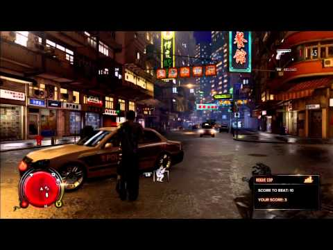 Sleeping Dogs | How to get a gun easily