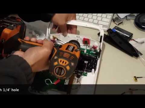 Yuneec ST10+ mod with ITelite DBS Antenna
