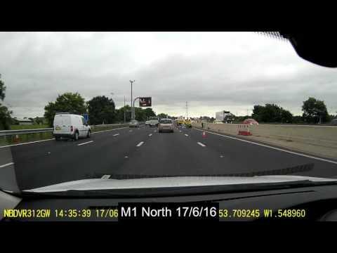 M1 North Lane Closure