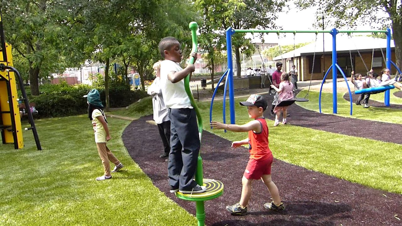 Zig Zag Twister Outdoor Playground Equipment