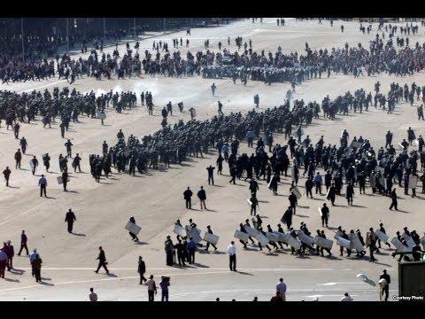 Azadlıq Meydanında Etiraz - 2003 16 oktyabr - Arxivdən material
