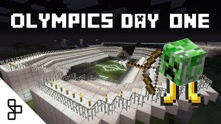 Things to do in Minecraft - 2016 Olympics: Day 1