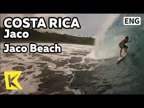 【K】Costa Rica Travel-Jaco[코스타리카 여행-하코]서핑 천국, 하코 해변/Jaco Beach/Surfing/Water sports/Sea/Surfer