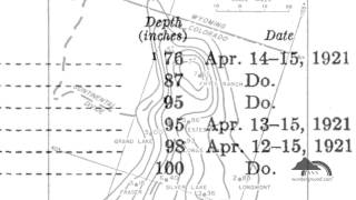 April 15, 1921: Record 24 Hour Snowfall