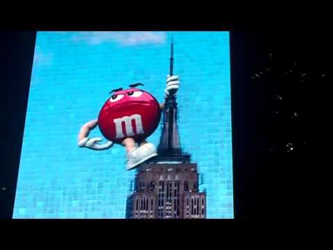 M&M's Video Screen - Times Square
