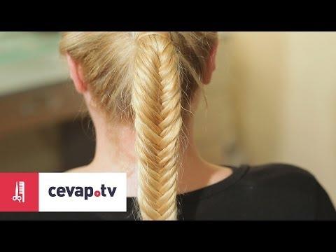 Saçlara mısır örgü nasıl yapılır?