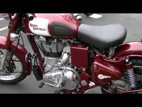 2011 Royal Enfield Bullet 500 Classic California Model Motorcycle