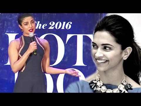 Priyanka Trolls Reporter For Asking About Deepika Vs Priyank