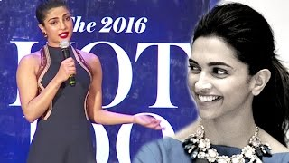 Priyanka Trolls Reporter For Asking About Deepika Vs Priyanka