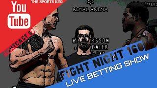 The Sports Keg - FightCast #28 (Live Betting UFC Copenhagen & Week 5 NCAAF.)