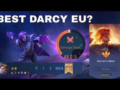 THIS IS HOW YOU PLAY D'ARCY | 50% DMG | CONQUEROR GAMEPLAY |AoV | * RoV | Liên Quân Mobile