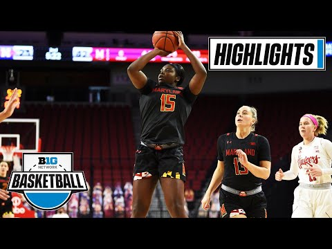 Maryland at Nebraska | Milestone Win for Brenda Frese | Feb. 14, 2021 | Highlights