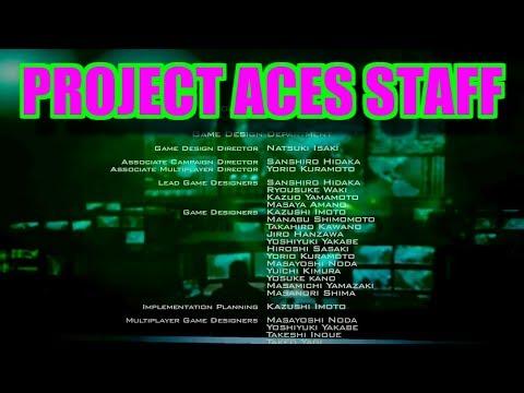 スタッフクレジット Project ACES Staff エースコンバット アサルト・ホライゾン ACECOMBAT ASSAULT HORIZON