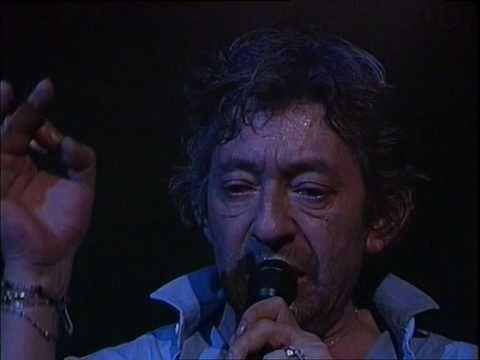 Serge Gainsbourg - Bonnie and Clyde live au Casino De Paris (1985)