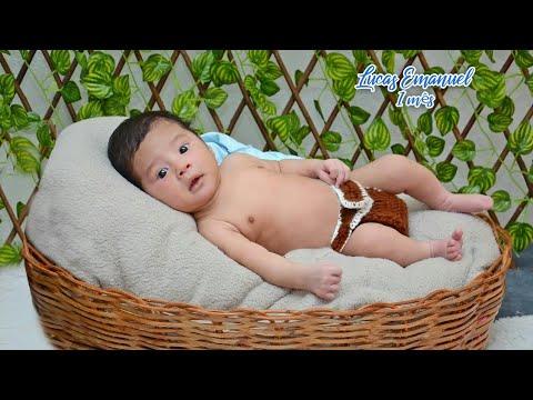 Diário do Bebê 1•mês Lucas Emanuel 💙💙