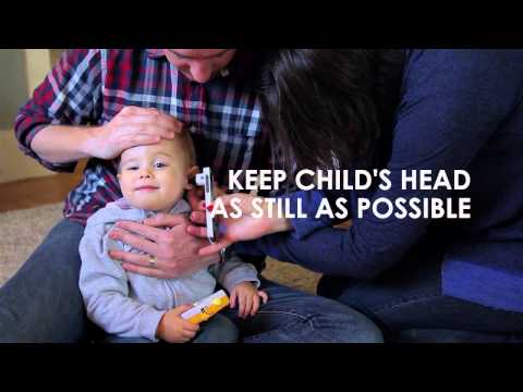 How to Conduct an Ear Exam on a Toddler - YouTube