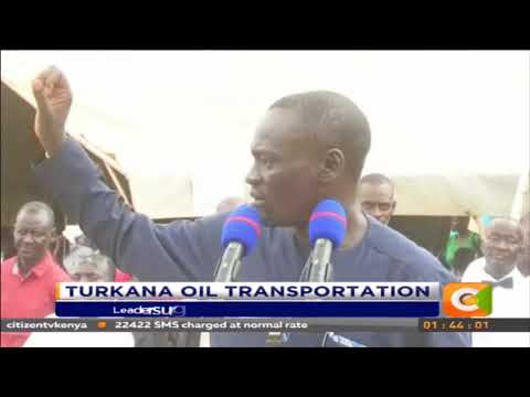 Leaders urge residents to allow transportation Oil transportation